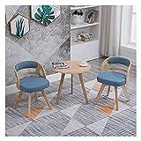 Cocina Mesa de ocio Mesa de comedor Conjunto para cocina o decoración del hotel, Café Mesas de ocio y sillas Sala de estar nórdica Mesa de comedor 60 cm Mesa de madera maciza Mesa redonda Mesa y silla