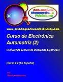 Curso de Electrónica Automotriz 2: (Incluyendo lectura de diagramas eléctricos):...
