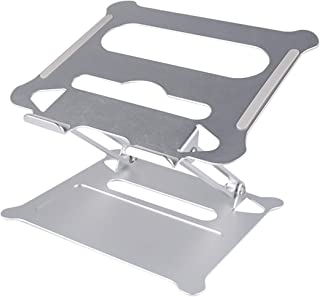 Laptop Stand, Aluminum Ventilation and Cooling Multi-Function Digital Creative Stand, Manual Folding Lift Base, Laptop Stand can Also be Used for Tablet, Ipad (Less Than 17 Inches), No Sliding