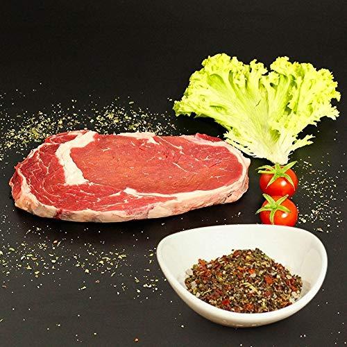 KAUF DEIN STEAK 5 * Rip-EYE-Steaks (DRY AGED am Knochen gereift) inkl. Steakpfeffer, 1,5kg Fleischgenuss, beste Steaks, Steaks grillen, am Knochen gereifte Steaks