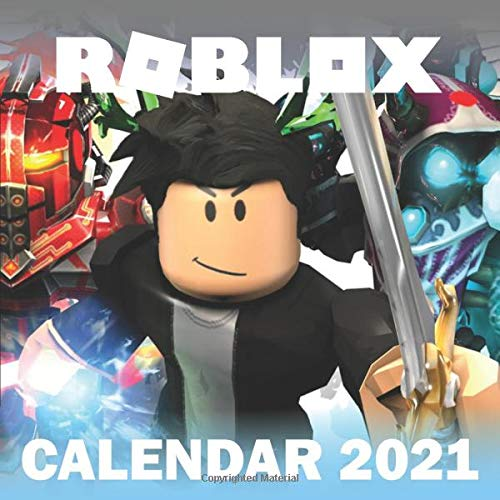ROBLOX calendar 2021: Monthly Colorful Roblox Calendar 2021, Great Gifts For Kids, boys, girls