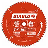 Freud D0760A Diablo 7-1/4' x 60-Tooth Ultra Fine...