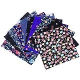 HEALLILY 10 Stück Blumenmuster Patchwork Baumwolle Twill