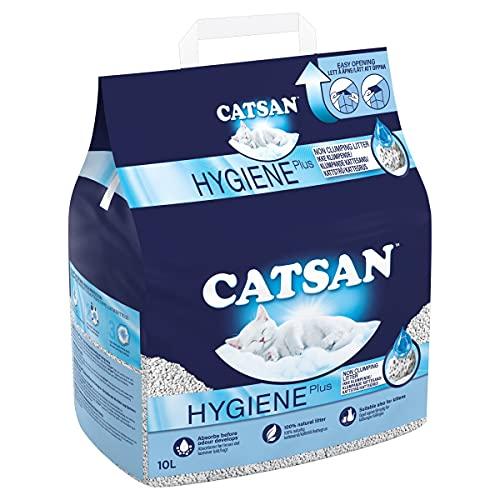 Catsan Hygiene Cat Litter White Hygiene, 10L