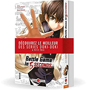 Battle Game in 5 Seconds Pack découverte Tomes 1 & 2