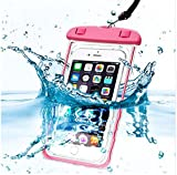 PHONILLICO Sac Waterproof Rose pour Sony Xperia XA XA1 XA2 XZ Premium XZ1 XZ2 Compact...
