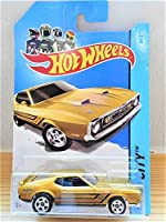 hot wheels 1971 MUSTANG MACH 1 ゴールド