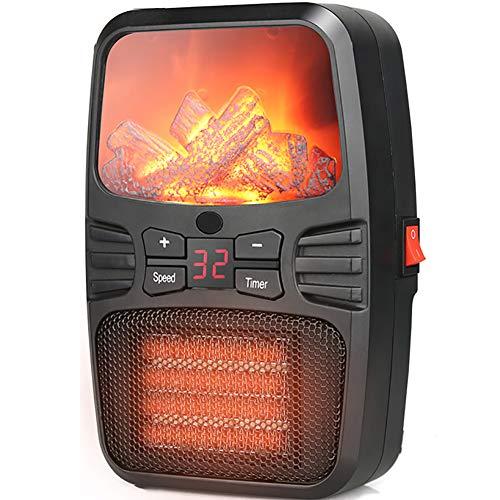VIY Calefactor Eléctrico, Mini Calefactor Cerámico, Portátil Personal, para Cuarto/Baño/Oficina, con Protección...