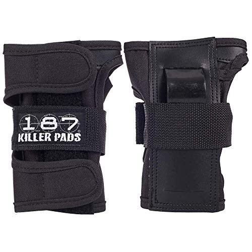 187 Killer Wrist Guards - Black - Large