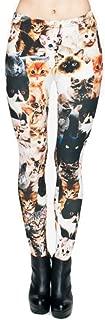 mandala cat leggings