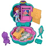 Polly Pocket Mini cofre estudio de moda, muñeca con accesorios (Mattel FRY31)