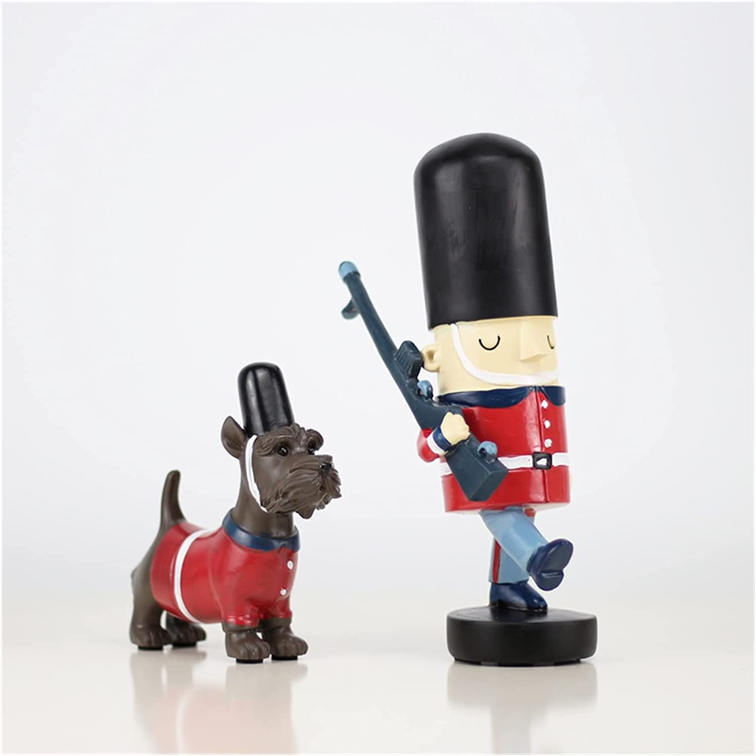 MINGMIN-DZ Mural Decoration Figurines Dog Limited time for free shipping Ornamen Police Patrol Quality inspection