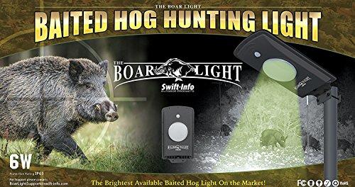 The Boar Light - Baited Hog Hunting Light