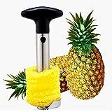 Joma E-Shop Coupe-ananas en acier inoxydable, outil de cuisine pour fruits et ananas