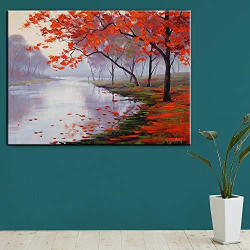 1000pcs_Wooden Adult Puzzle_Blooming Almond Tree_Puede usarse como una Bola de estrés para Adultos o un Juego de Rompecabezas_50x75cm
