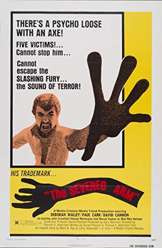 Berkin Arts Poster di Film Stampa giclée su Tela-Decorazione da Parete per Poster con Riproduzione di Poster cinematografici(Il Braccio mozzato 3) #XFB