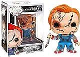 Figura de Anime Figura de Vinilo Coleccionable Chucky de la Serie de películas de Terror Regalos de ...