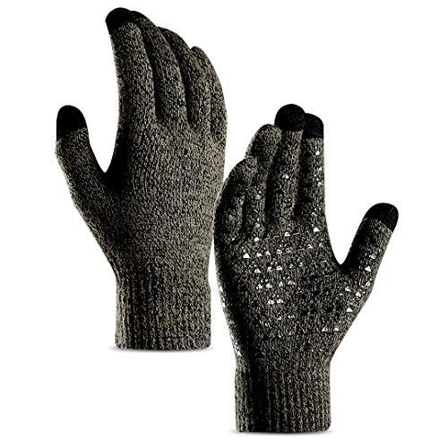 Touchscreen Handschuhe Herren Winter Smartphone Winterhandschuhe Herren oder Damen Handschuhe Sport Fitness Weihnachtsgeschenke Reithandschuhe Fahrradhandschuhe Weihnachten Geschenk für Männer Frauen