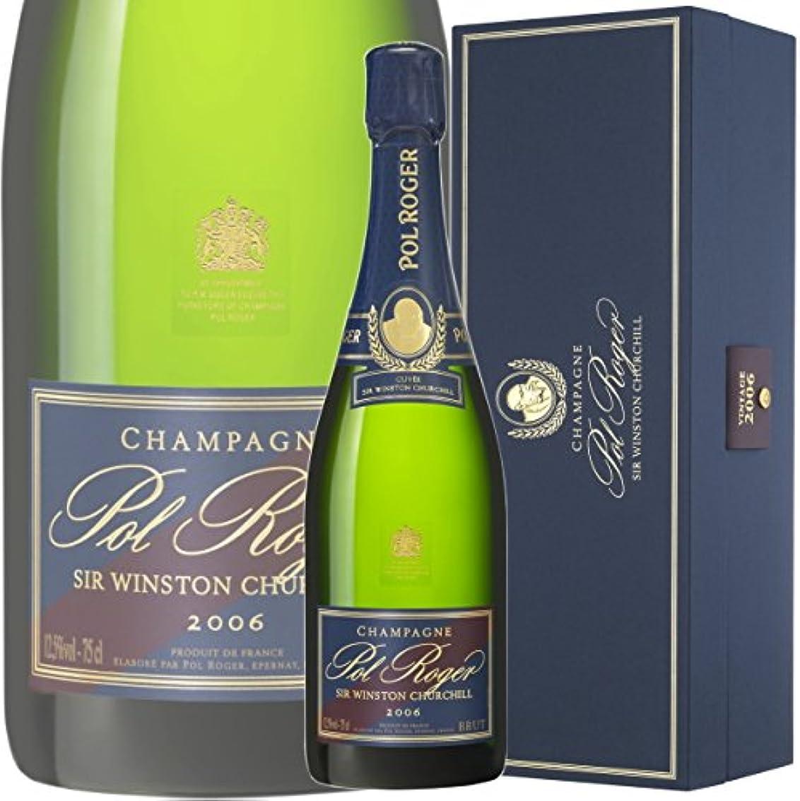 藤色傘面積ポル ロジェ キュヴェ サー ウィンストン チャーチル 2006 正規品 シャンパン 辛口 白 750ml