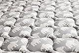 Babyfrücht Krabbeldecke BLP:'Elefant', Fb. grau | rutschfest/wasserfest | Serie: Base-Line Premium (BLP) | Artikel: 10183 | ca. 130x150cm groß | 30°C waschbar