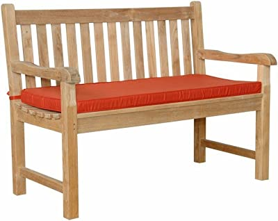 Anderson Teak Classic 2-Seater Bench, Dupione Bamboo