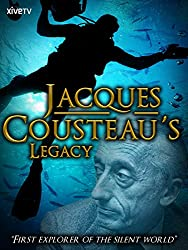 Image: Watch Jacques Cousteau's Legacy | This film reconstructs the life of famed marine biologist and environmental pioneer Jacques Cousteau using a fascinating mix of wildlife footage, archive material and elaborate re-enactments