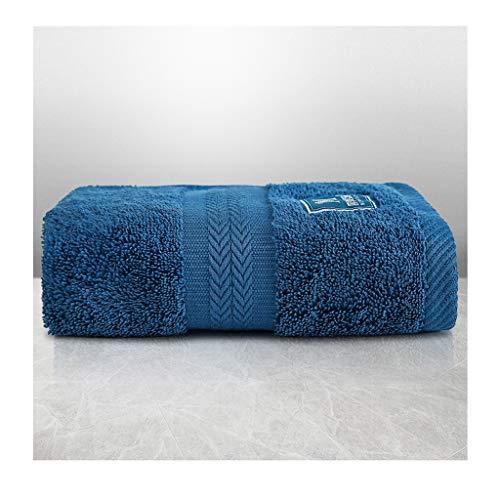 Tcaijing Handdoeken, Hoge Kwaliteit 100% Long-Staple Katoen (35 * 75 cm) Super Zachte Super Absorbent 5 Sterren Hotel Kwaliteit 5 Kleuren Optioneel voor Familie Badkamer Zwembad Fitness marineblauw