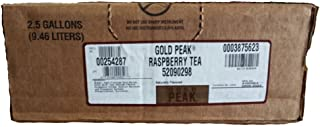 Gold Peak Raspberry Tea Syrup 2.5 Gallon Bag in Box BIB Sodastream