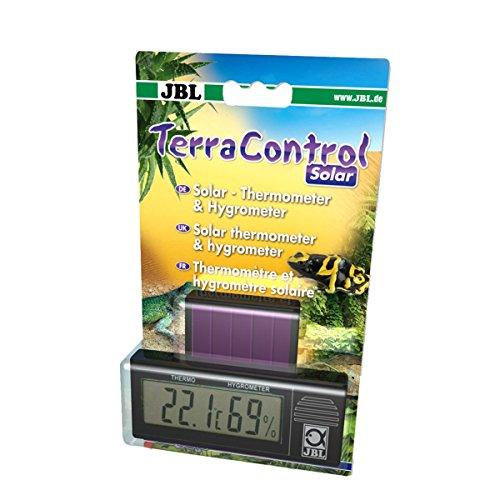 JBL Terra Control Solar 71164 Solar Thermometer und Hygrometer für alle Terrarien Digital