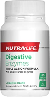 Nutralife Digestive Enzymes, 60 count