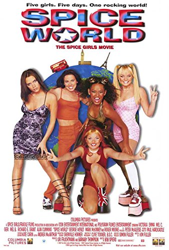 Spice World: The Movie POSTER Movie (27 x 40 Inches - 69cm x 102cm) (1997) (Style B)