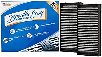 Spearhead Premium Breathe Easy Cabin Filter, Up to 25% Longer Life w/Activated Carbon (BE-936)