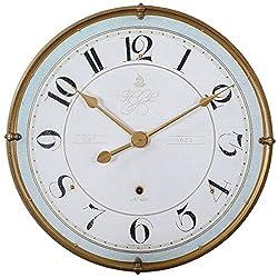 Uttermost 06091 Torriana Wall Clock, White