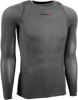Reebok Mens L/S Compression Shirt (Multiple Colors)