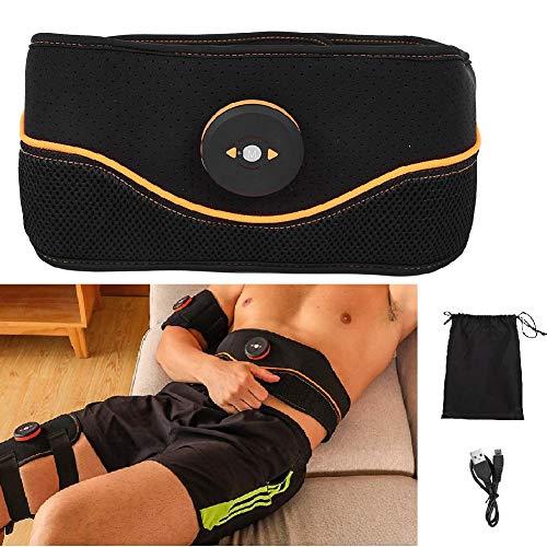 Cinturón abdominal eléctrico, cinturón abdominal eléctrico, entrenador abdominal EMS, estimulación muscular eléctrica...