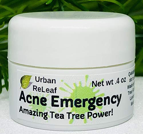 Urban ReLeaf Acne Emergency, Amazing Tea Tree Power! Quickly heal red & Angry Acne. Calm & heal breakouts. Effective Blemish spot Treatment. Gentle Fast Help. 100% Natural Bump & Zit Remedy