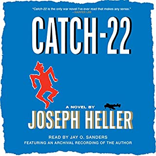 Catch-22 audiobook cover art