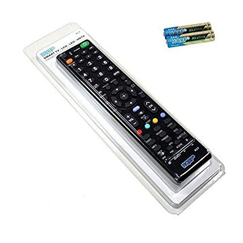 HQRP Universale Fernbedienung kompatibel mit Sony LED-Fernseher; KDL-32R505C, KDL-40R555C, KDL-48R555C Full HD, Smart TV