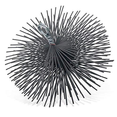 Kaminbesen Schornsteinbesen Stahl 180 mm Durchmesser - Flachfederstahl mittlere Härte