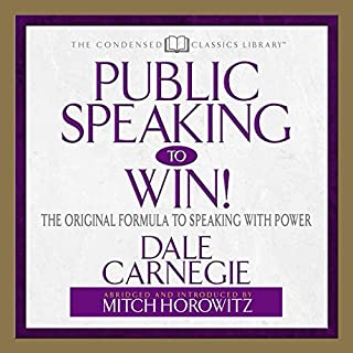 Public Speaking to Win audiobook cover art