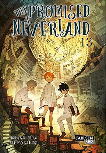 The Promised Neverland 13: Ein emotionales Mystery-Horror-Spektakel!