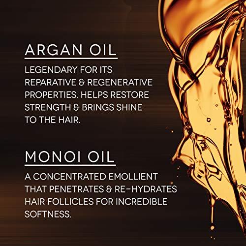 Bain de Terre Recovery Complex Anti-Frizz Silky Shine Serum, with Argan and Monoi Oils, Paraben-Free, 1.7-Ounce