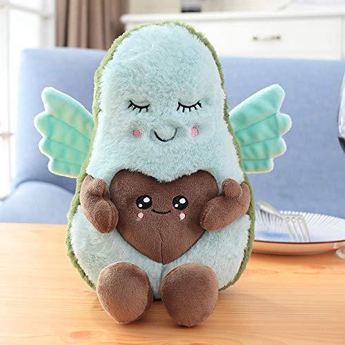 Linda pareja de aguacate relleno de felpa de juguete relleno muñeca cojín almohada niño niña bebé sueño apaciguar muñeca-2_22cm