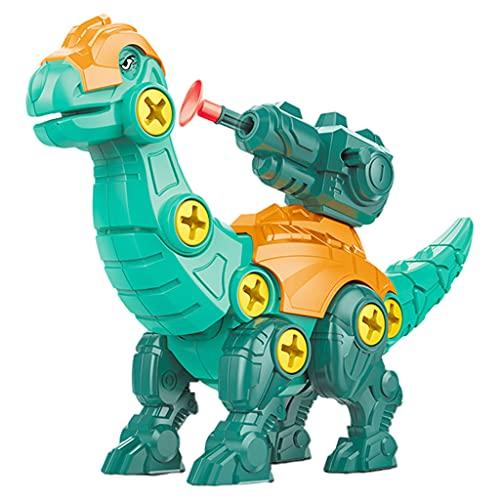 Perfeclan Desmontar Dinosaurios con Destornillador niños DIY Conjunto de construcción de Montaje Stem Juguetes de Aprendizaje para niños niñas - Braquiosaurio