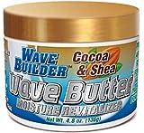 WaveBuilder Cocoa & Shea Wave Butter Moisture Revitalizer, 4.8 oz (Pack of 2)