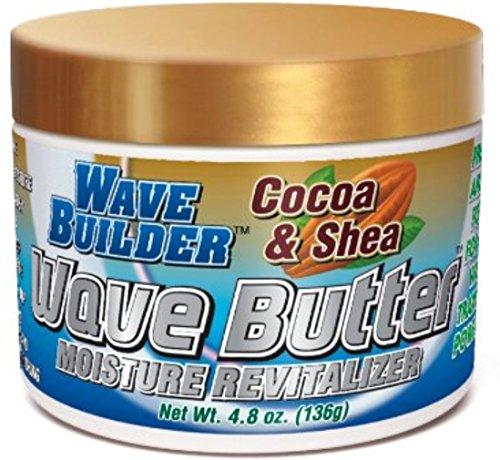 WaveBuilder Cocoa & Shea Wave Butter Moisture Revitalizer, 4.8 oz...