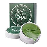 R.A.V Collagen Eye Mask, Green Tea Under Eye Treatment Gels Eye Patches, With Anti-Aging Hyaluronic Acid for Dark Circles and Puffiness - Natural Extracts, Ideal for Most Skin Types (30 Pairs)