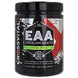 EAA Pulver I CROSSVITAL I GREEN APPLE I vegan I 500g I mit Vitamin B6 I mega Geschmack I 1A löslich...