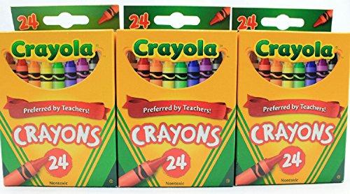 Crayola Crayons Bundle (3 Pack)