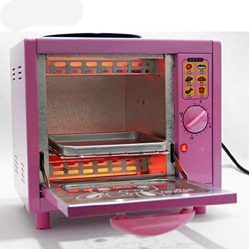 5LMini Elektro Pizza Brot Backofen Backfertigkeit Ei Omelett Bratpfanne Topf Brot Kuchen Toaster Frühstücksbackmaschine